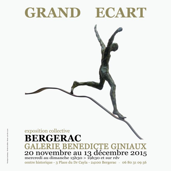 GRAND ECART EXPOSITION COLLECTIVE GALERIE B. GINIAUX NOV 2015