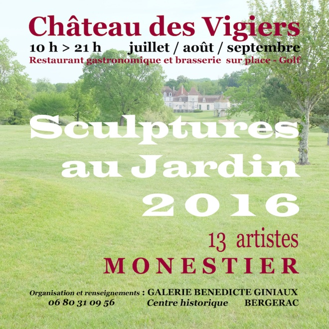 SCULPTURES AU JARDIN 2016 WEB