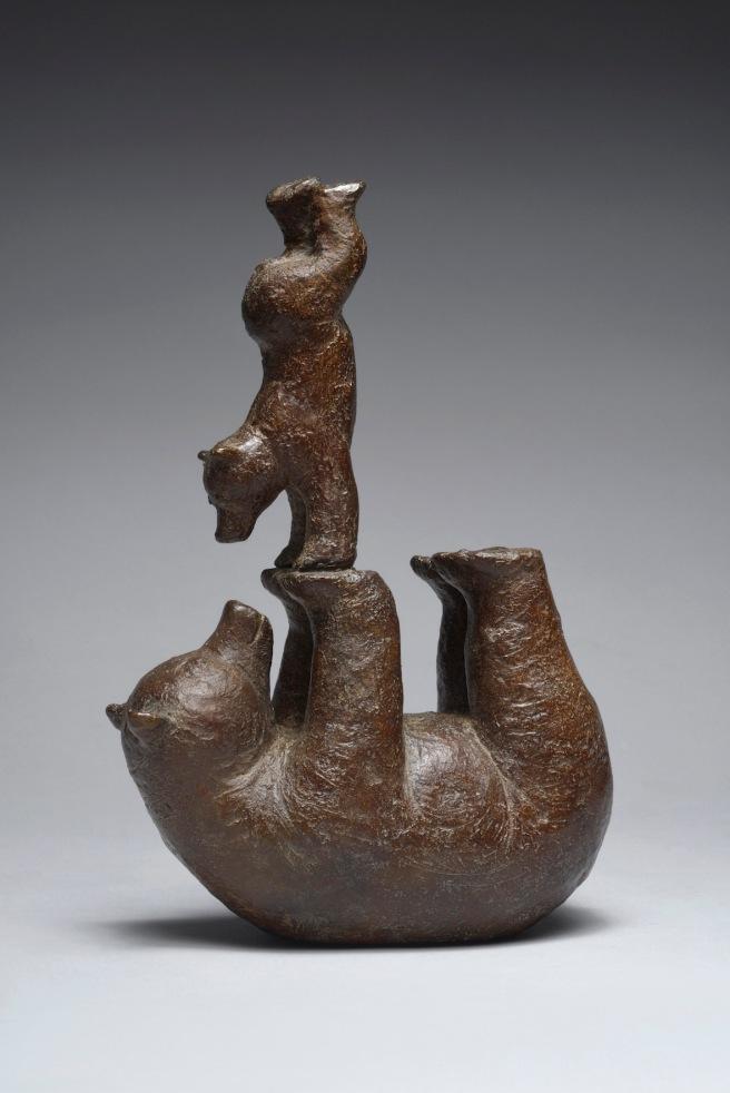Sophie VERGER Exercice - Bronze - 26x17,5x9 cm