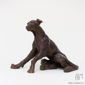 VALEM-MonChien. BRONZE